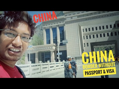 Crossing China Border without Passport & Visa   Delhi to Mustang Day 6 Part 1