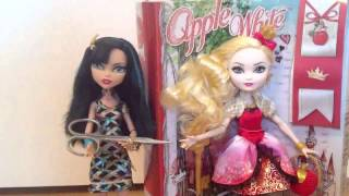 Monster High/Stop Motion: Распаковка Apple White