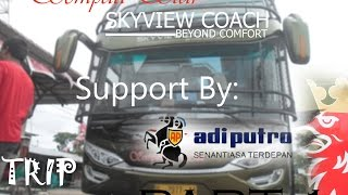 Trip MEDAN-BIREUEN With Sempati Star Skyview Coach K410