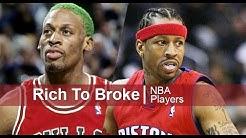 10 NBA Spieler die nach ihrer Karriere pleite gegangen sind