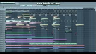 Oceanlab - Satellite (Seven Lions remix) fl studio  remake
