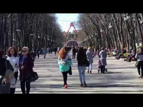 Park Maxim Gorky Kharkov 2018 بارك كوركفا في خاركوف