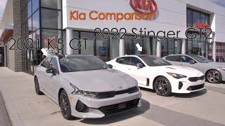 2022 Kia Stinger GT 2 vs 2021 …