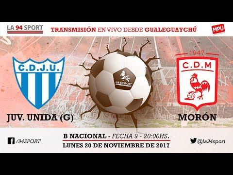 [VIVO HD] Juventud Unida Vs. Dep Morón / Fecha 9 - B Nacional En Vivo