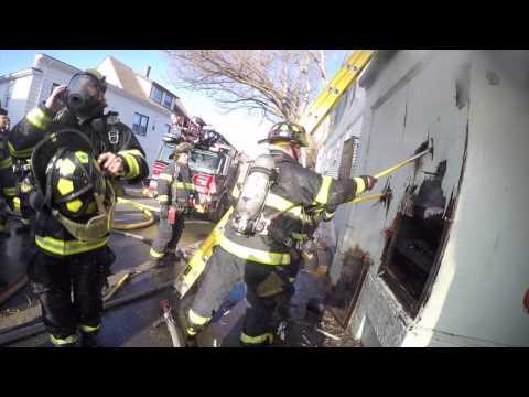 Garage Fire Beverly, MA