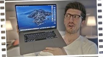 """Da ist es: Das NEUE MacBook Pro 16""""!"""