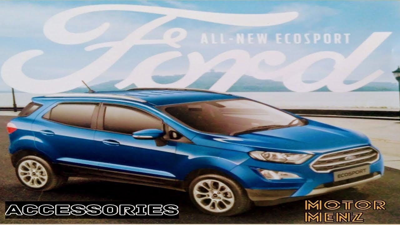Ford Ecosport Accessories Video Motormenz