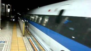 のぞみ50号東京行(名古屋駅入線)/500系のぞみ W8編成
