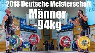 2018 Deutsche Meisterschaft Gewichtheben Männer bis 94kg