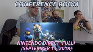 Conference Room: Nintendo Direct 09-13-2018 (FULL)