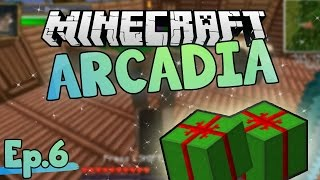 Presents for people! | Minecraft Arcadia | Ep.6