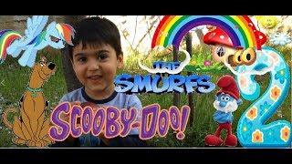 Elma Yanak Mert - Şirin Baba Scooby Doo ve Little Pony Oyunu 2