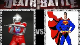 Ultraman vs Superman