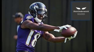 Jeremy Maclin is an exceptional value in fantasy football operating as the Ravens No.1 wide receiver