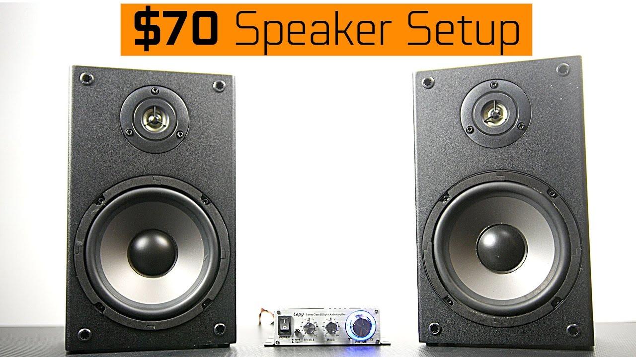 Front Speaker Setup Part 2 - YouTube |Speaker Setup