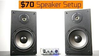 $70 Speaker Setup - Does it Sound Any Good?