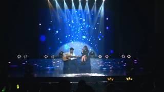 Haru haru  acoustic ( Olia Hoang cover with Bueno )