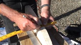 Making A Paddle For A Canoe