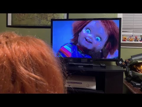 Chucky watches his movie