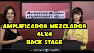 Amplificador 4LX4 de BACK STAGE - Sensey TV - Temp