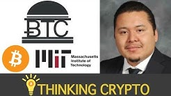 Interview with MIT Bitcoin Club President - MIT Vault Crypto - Diplomas on Bitcoin Blockchain & More