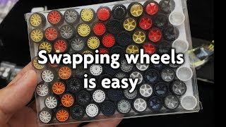 Gambar cover Hot Kustoms Vlog #2: Swapping wheels is easy with Garage 64 tutorial