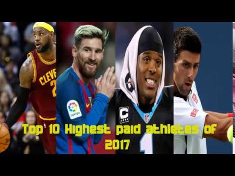 Top 10 Highest Paid Athletes of 2017