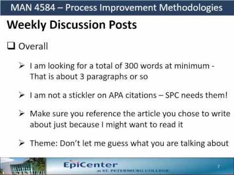 SPC MAN4584 – Discussion Posts