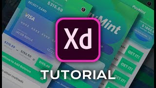 Design a PAYMENT APP UI DESIGN - ADOBE XD