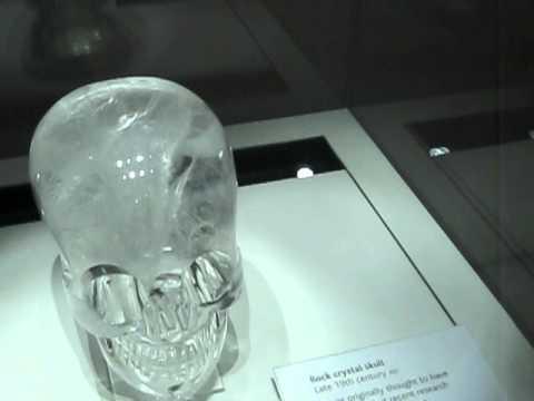 Rock crystal skull in British Museum