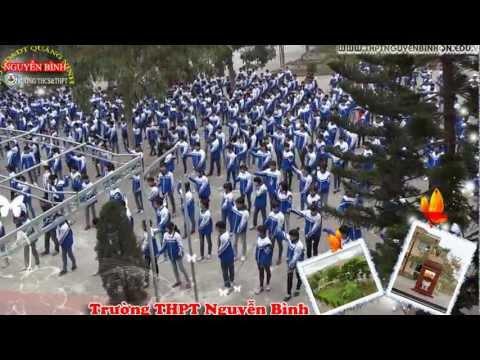 Thể dục giữa giờ - Trường THPT Nguyễn Bình, QN