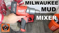 Milwaukee Mud Mixer (Cordless POWER!)