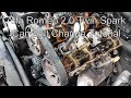 Alfa Romeo 2.0 Twinspark cambelt guide and how to.