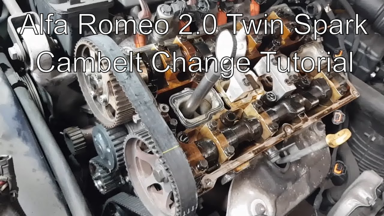[SODI_2457]   Alfa Romeo 2.0 Twinspark cambelt guide and how to. - YouTube | Alfa Romeo Timing Belt |  | YouTube