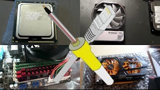 BitBastelei #168 - PC aufrüsten im Bastler-Style: CPU, RAM, Lüfter, Grafikkarte