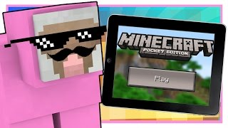 PINK SHEEP PLAYS MINECRAFT POCKET EDITION!!