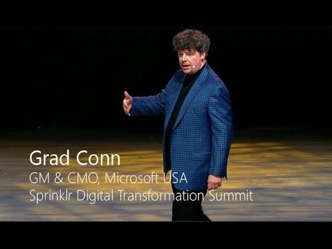 Sprinklr Digital Transformation Summit | Grad Conn