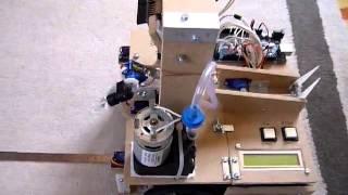 Robot Pong2 - Test de la mesure de distance d'un objet avec la CMUcam4