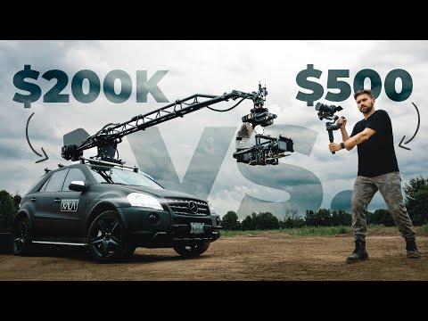 $500 GIMBAL VS. $200,000 HOLLYWOOD CAMERA CAR B-ROLL