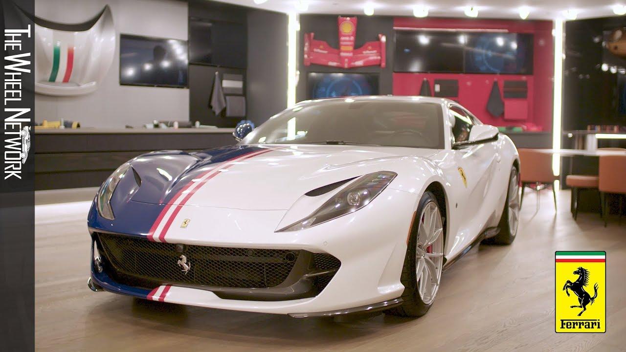 Ferrari Tailor Made Center In New York City Youtube