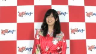 """""""ピー""""ガールズ「真原彩」の自己紹介。 http://www.tv-tokyo.co.jp/offi..."""