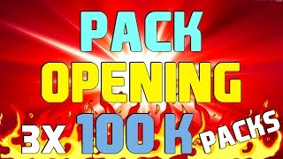 PACK OPENING CABULOSO!!! [100K PACKS]