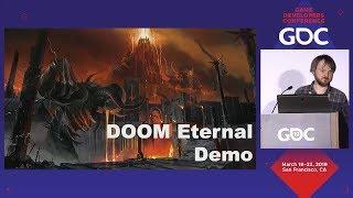 Google Stadia: Gameplay DOOM Eternal GDC