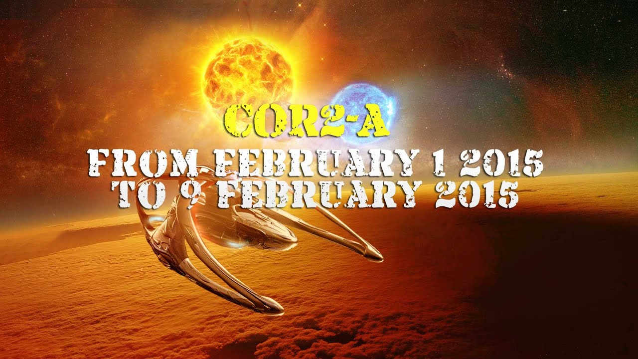 Cor2-A from 1 February 2015 to 9 February 2015
