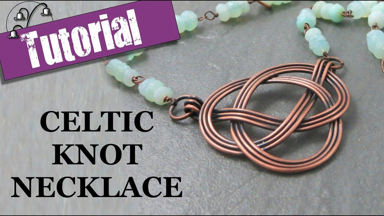 Celtic Knot Necklace - YouTube