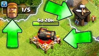 NEW CLUES FOUND!! WHY DID THE BUILDERS LEAVE IN CLASH OF CLANS!?! WHERE HAVE THEY GONE!