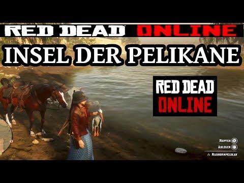 Pelikaninsel ein Besuch Red Dead Redemption 2 Online Deutsch / German thumbnail