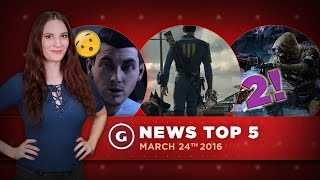 Fallout 4 VR & New Pokemon Go-kemon! Plus Destiny 2 Leaks! - GS News Top 5
