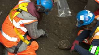 Behind the hoardings: Crossrail Archaeological finds