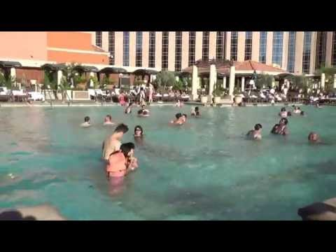 Pool in The Venetian - Las Vegas